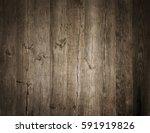 old wooden background. board | Shutterstock . vector #591919826