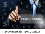 business man pointing his hand... | Shutterstock . vector #591963536