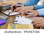 business accounting  | Shutterstock . vector #591967106