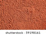 texture of the typical red sand ...
