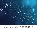 colorful realistic glitter... | Shutterstock .eps vector #591993116