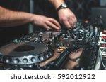 calibrate configure mixing... | Shutterstock . vector #592012922