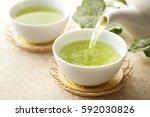 Stock photo japanese green tea 592030826