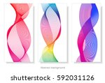 abstract template background... | Shutterstock .eps vector #592031126