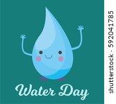water day vector   Shutterstock .eps vector #592041785