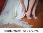 wedding dressing   Shutterstock . vector #592179896