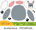 education paper game for... | Shutterstock .eps vector #592189106