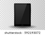 silver modern tablet pc...
