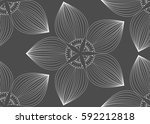 pattern vector background with... | Shutterstock .eps vector #592212818