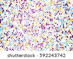 vector confetti. colorful... | Shutterstock .eps vector #592243742