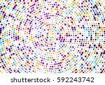 vector confetti. colorful... | Shutterstock .eps vector #592243742