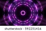 violet glittering stage lights   Shutterstock . vector #592251416