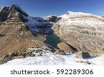 panoramic landscape view of... | Shutterstock . vector #592289306