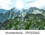 Hight tatras - nice mountains in Slovakia - stock photo