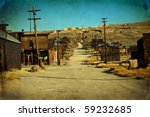 Wild West Ghost Gold Town....