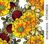 abstract elegance seamless...   Shutterstock .eps vector #592348016