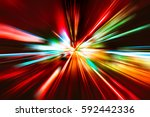 abstract city street light... | Shutterstock . vector #592442336