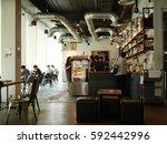 bangkok  thailand   march 4  ... | Shutterstock . vector #592442996