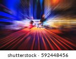 light explosion effect | Shutterstock . vector #592448456