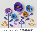 3d render  digital illustration ... | Shutterstock . vector #592474436