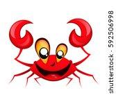 Smiling Happy Crab