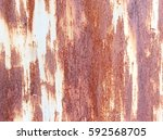 steel metal with rust texture | Shutterstock . vector #592568705