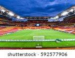 panoramic view of suncorp... | Shutterstock . vector #592577906