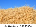Haystack On The Meadow In Sunny ...
