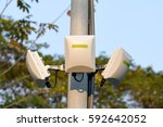 wireless antenna in park for