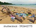 kota kinabalu  malaysia  ...   Shutterstock . vector #592642775