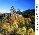 ruins of gutstejn castle  czech ... | Shutterstock . vector #59265529