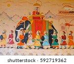 gujarat  india   october 27 ... | Shutterstock . vector #592719362