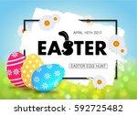 Easter Egg Hunt Vector...