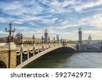 view on the  bridge of... | Shutterstock . vector #592742972