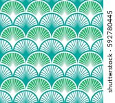 fish scales seamless vector... | Shutterstock .eps vector #592780445