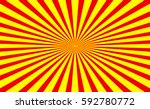 abstract radial lines ... | Shutterstock .eps vector #592780772