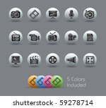 multimedia    pearly series     ... | Shutterstock .eps vector #59278714