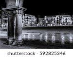 city square  | Shutterstock . vector #592825346