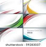 set of templates for business... | Shutterstock .eps vector #59283037