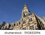 Belfry Of Arras In Nord Region...