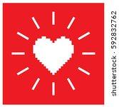 Pixel Heart Illustration