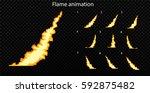 vector explode. explode effect... | Shutterstock .eps vector #592875482