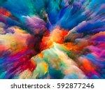color splash series.... | Shutterstock . vector #592877246
