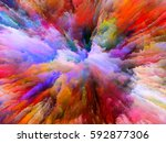 color splash series. interplay... | Shutterstock . vector #592877306