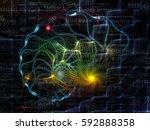nature geometry series.... | Shutterstock . vector #592888358