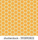 yellow honey comb graphic.   Shutterstock .eps vector #592892822