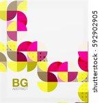 modern geometrical abstract...   Shutterstock .eps vector #592902905
