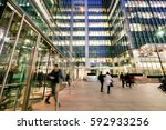 london train and office... | Shutterstock . vector #592933256