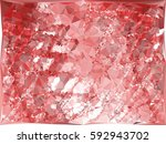 abstract multicolor mosaic... | Shutterstock . vector #592943702