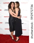 """Small photo of LOS ANGELES - MAR 2: Sandra Oh, Alicia Silverstone at the """"Catfight"""" Los Angeles Premiere at the Cinefamily Theater on March 2, 2017 in Los Angeles, CA"""